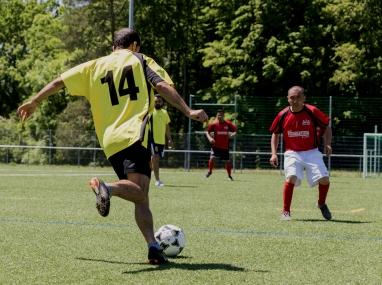 Equipement sportif pour les migrants